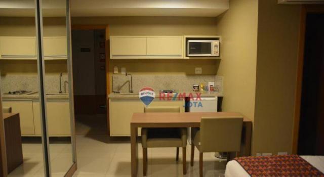 Loft com 1 dormitório à venda, 30 m² por r$ 320.000 - zona industrial - guará/df - Foto 4
