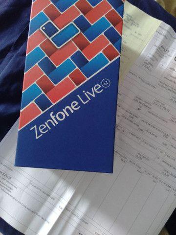 ZenFone live L2 azul novo - Foto 2