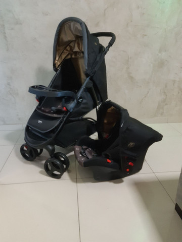 Kit carrinho + bebê conforto  - Foto 4