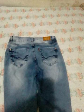 3 Calça jeans número 38 e 1 número 40 nova