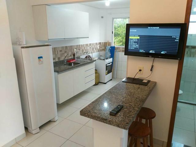 Apartamento mobiliado de TEMPORADA novinho bem localizado - Foto 5