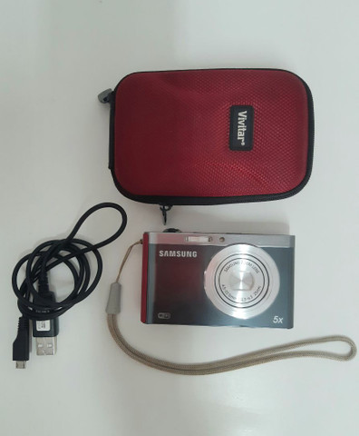 Câmera Sansung HD 5x excelente estado - Foto 2