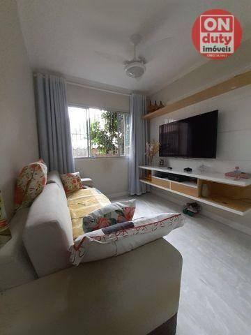 Apartamento com 2 dormitórios à venda, 67 m² por R$ 165.000,00 - Saboó - Santos/SP