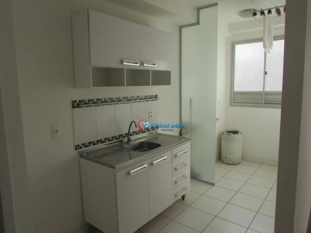 Apartamento com 1 dormitório para alugar, 49 m² por R$ 600/mês - Parque Yolanda (Nova Vene - Foto 2