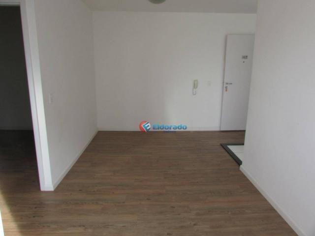 Apartamento com 1 dormitório para alugar, 49 m² por R$ 600/mês - Parque Yolanda (Nova Vene - Foto 5