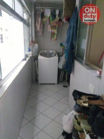Apartamento com 3 dormitórios à venda, 90 m² por R$ 350.000,00 - Campo Grande - Santos/SP - Foto 13