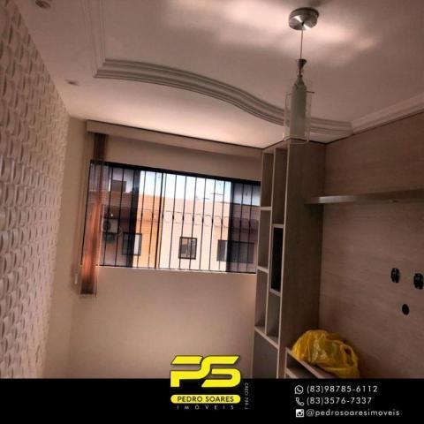 Apartamento com 2 dormitórios à venda, 59 m² por R$ 157.000 - Jardim Cidade Universitária  - Foto 4