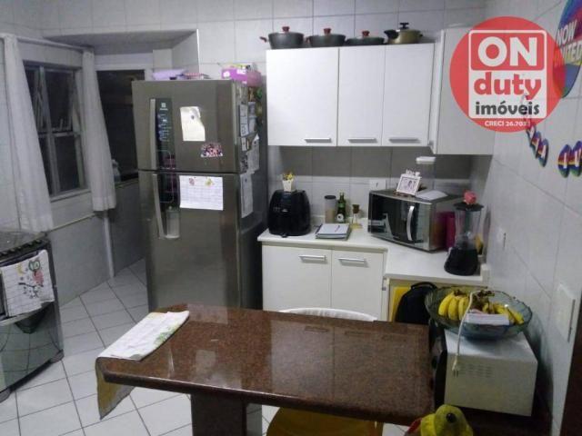 Apartamento com 3 dormitórios à venda, 90 m² por R$ 350.000,00 - Campo Grande - Santos/SP - Foto 11