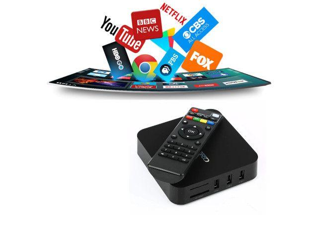 Tv Box Smart Melhor Conversor Digital Original E Lacrado - Foto 5