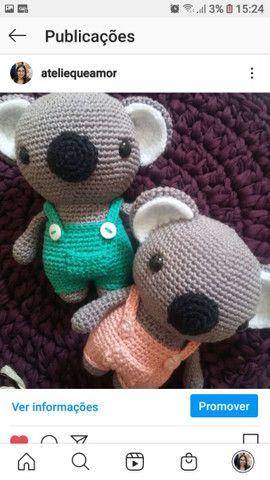 Peças em Croche  - Foto 4