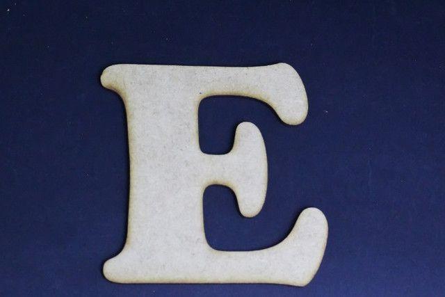 10 Letras do Alfabeto em MDF - Foto 2
