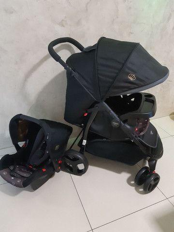 Kit carrinho + bebê conforto