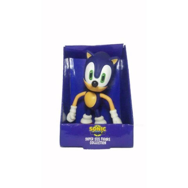 Boneco Sonic Grande Super Size - 23cm - Foto 5