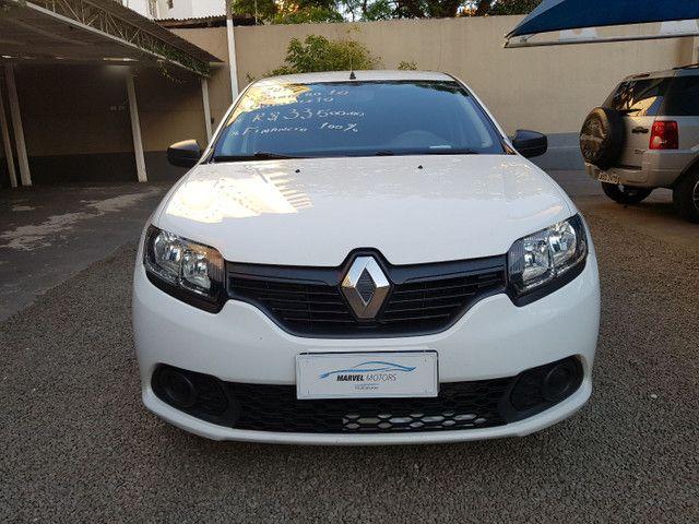 Renault / Sandero Autentic Hatch 1.0 - Foto 5