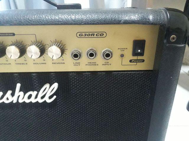 Amplificador de Guitarra Marshall G30R CD - Foto 4