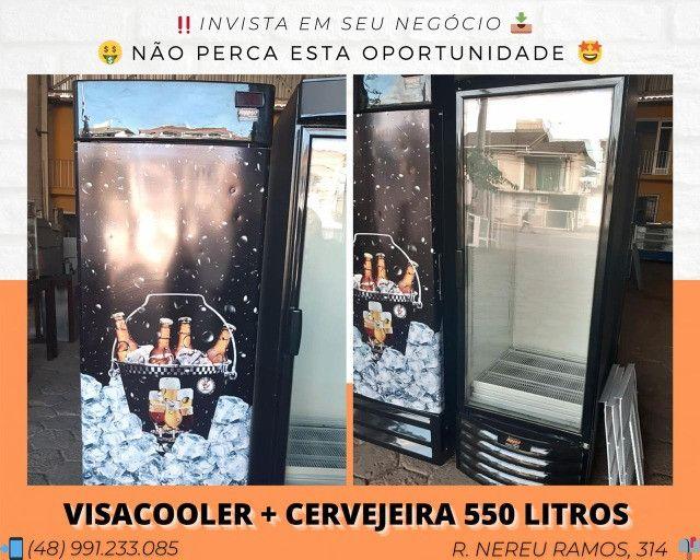 [Promoção] Conjunto verão - Cervejeira 570 LTS + Expositor 550 LTS