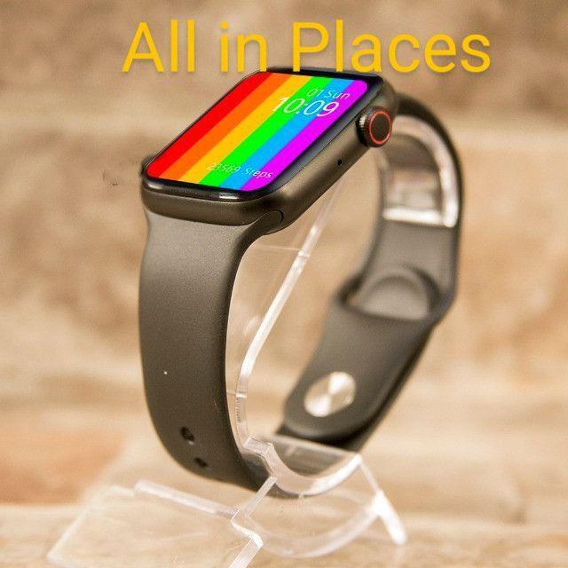Smartwatch Iwo W26 Tela Infinite VJ-250,00 AT- 240,00 - Foto 2