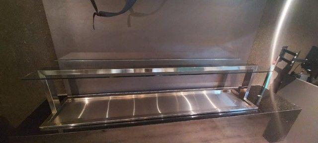 Pista Fria em aço inox