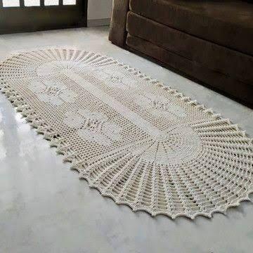 Fabricação de tapetes de Crochê! - Foto 5
