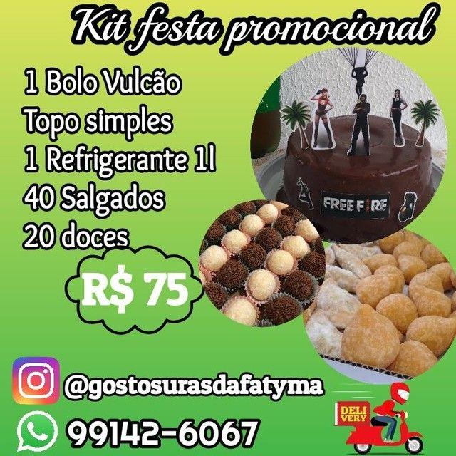 Kit festa promocional 75,00