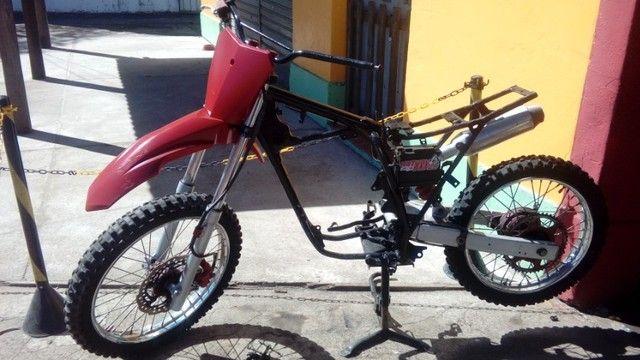 Moto veloterra / trilha CRF 200cc - Foto 11