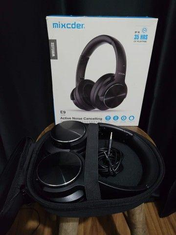 Fone De Ouvido Bluetooth Cancelamento De Ruído Mixcder E9
