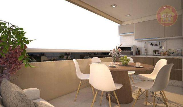 Apartamento com 2 dormitórios à venda, 68 m² por R$ 314.600 - Vila Guilhermina - Praia Gra - Foto 9