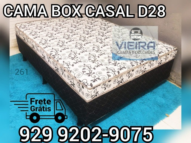 cama box casal entrega gratis ###! - Foto 3