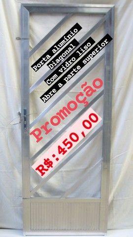 Promoção janela 100x100 e portas  - Foto 4