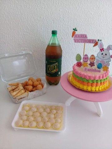 Kit festa Com torta personalizada a partir de 100 - Foto 5