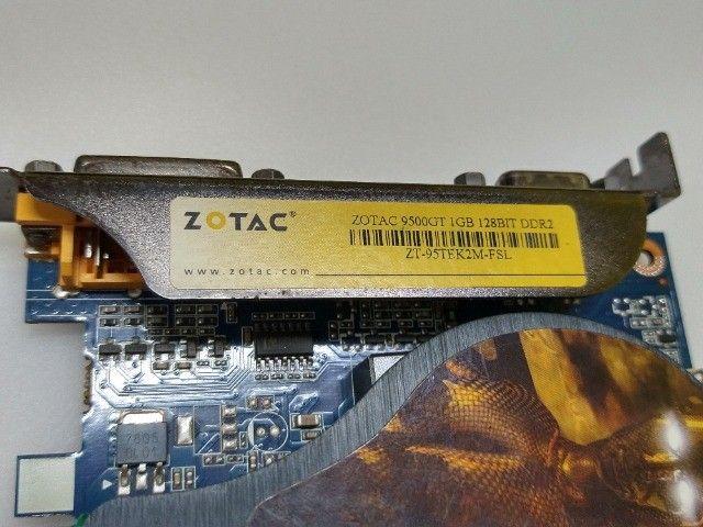 Placa de video Nvidea Ge-Force 9500GT 1GB 128Bits  - Foto 5