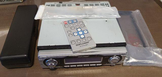 Auto rádio/CD Player AM/FM/MP3 marca Diplomat modelo dp-9150MP3 - Foto 5