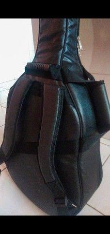 Bag Extra Luxo para Violão Folk - Foto 3