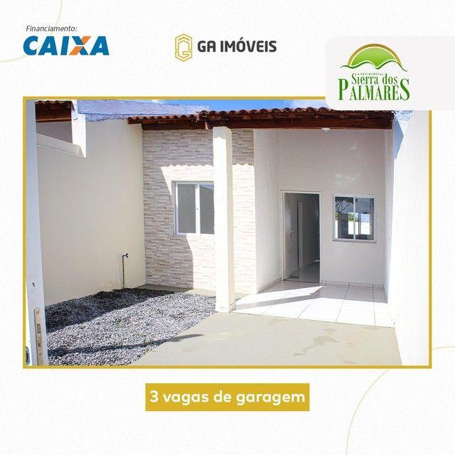 Lindas casas novas em Palmares, Pernambuco, 2 quartos, amplo quintal por apenas 130mil! - Foto 2