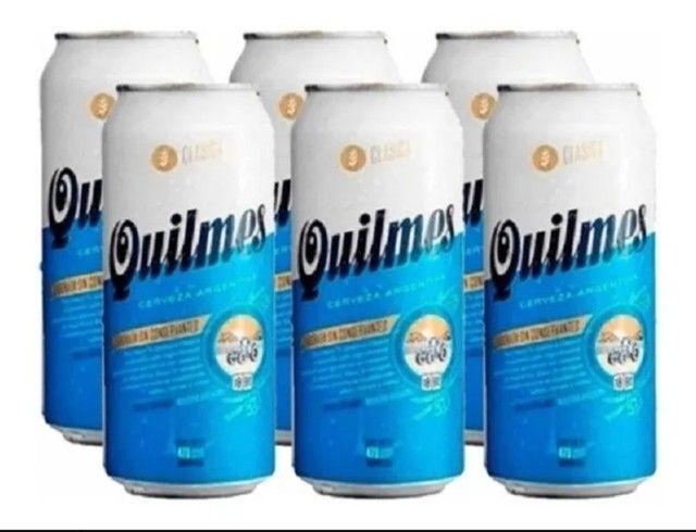 Cerveja Quilmes Lata 473ML - Foto 2