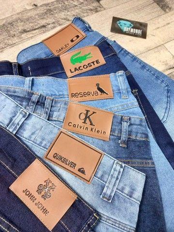 Bermuda Jeans de grife (Produto Novo)