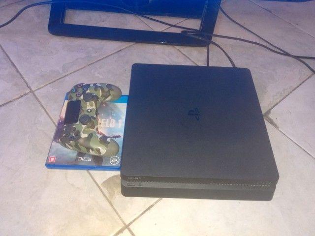 PS4 slim estado de zero - Foto 2