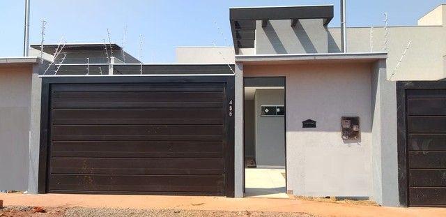 Casa com 3 Qtos sendo 2 suítes à venda, 117 m² por R$ 580.000 - Parque Residencial Rita Vi - Foto 2