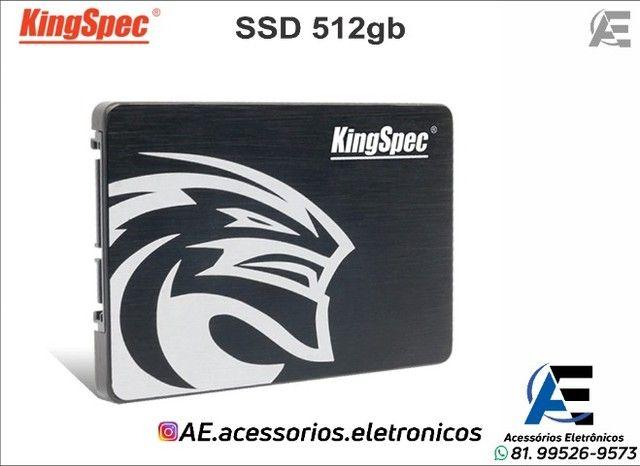 SSD 512gb kingspec - Entregamos e Aceitamos Cartões - Foto 2