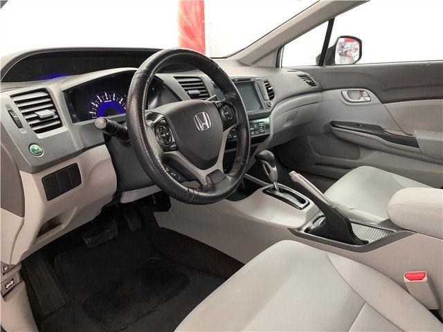 Honda Civic 2014 1.8 lxs 16v flex 4p automático - Foto 6