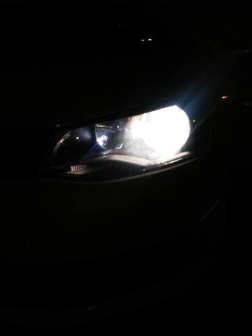 Par Lampada Super Branca H4 8500k  12v 55w Techone - Foto 3