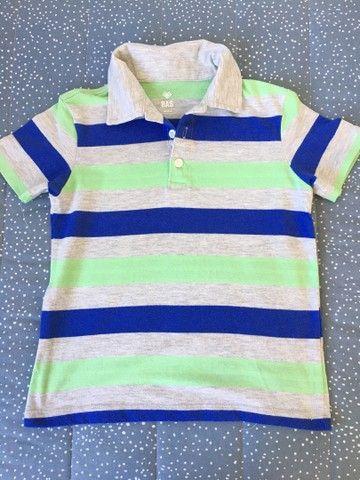 Camisetas menino tam 6 - Foto 2
