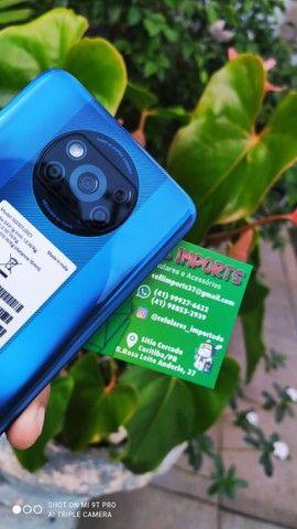 Xiaomi Poco X3 Pro NFC Dual Sim 256Gb/8Gb Com 6 Meses De Garantia Cor Dourado/Azul - Foto 6