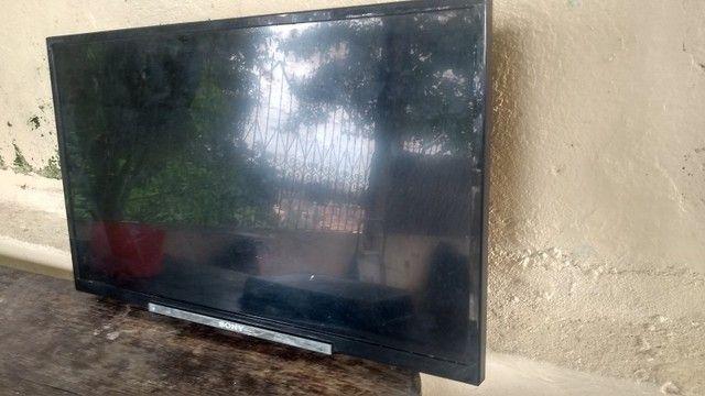 TV sony (Tela quebrada)