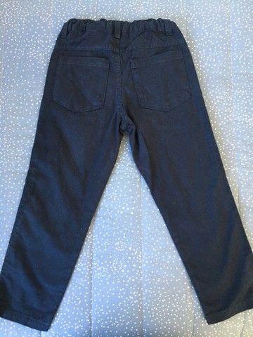 Calça jeans Gangster e brim Milon tamanho 4 - Foto 5