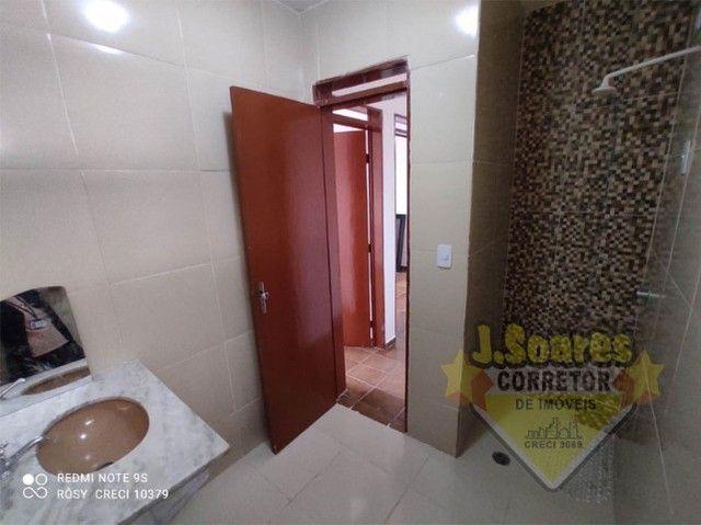 Cidade Universitária, 2 quartos, 58m², Água inclusa, R$ 700, Aluguel, Apartamento, João Pe - Foto 8