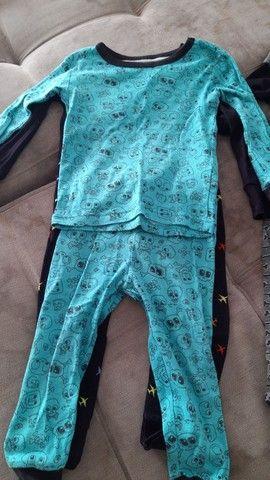 Pijama tamanho 2T