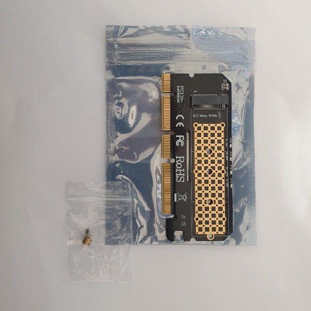 Adaptador Ssd M2 Nvme Pci-e 4x 8x 16x 3.0 - Foto 3