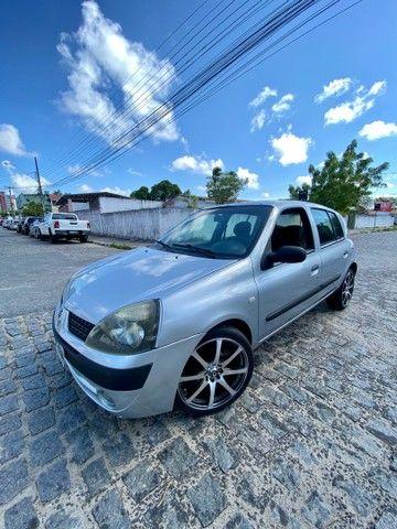 CLIO 2005 COMPLETO PRONTISSIMO PRA USO ( TROCO - VENDO - FINANCIO ATE 60x )  - Foto 6