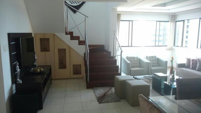 Exc. Cobertura Duplex 212m2, 03stes, parcelo e aceito imóvel como parte de pagamento - Foto 2
